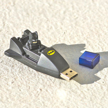 BatStick 4GB Batman USB flash drive reccyled by Polyester10