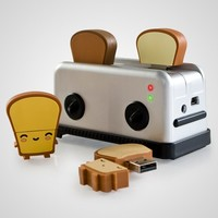 USB Toast Flash Drives at Firebox.com
