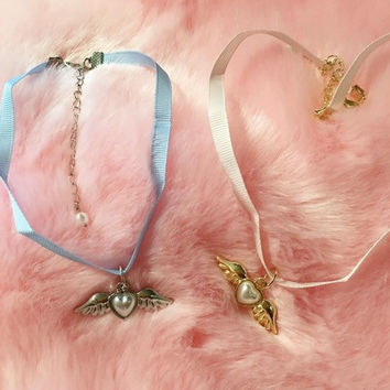 Angel kawaii pastel lolita choker