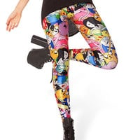 Adventure Time Print Leggings