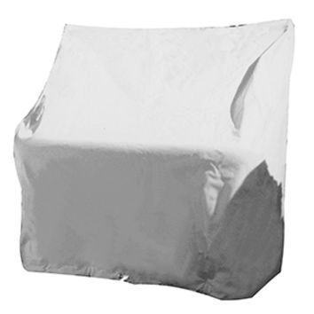 Taylor Made Small Swingback Back Boat Seat Cover - Vinyl White