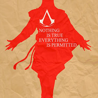 Nothing is true everything is permitted, Ezio Auditore from Assassin's Creed