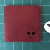 Alien Mouse Pad Leather Mousepad Mouse Mat