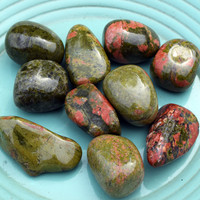 UNAKITE Life Balance Stone - Remove Energy Blocks & Change Whats Not Working In Your Life
