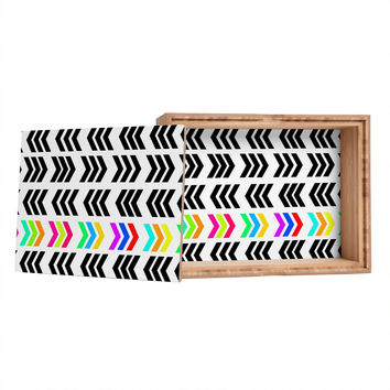 Lisa Argyropoulos Rainbow Pop Zig Zag Storage Box