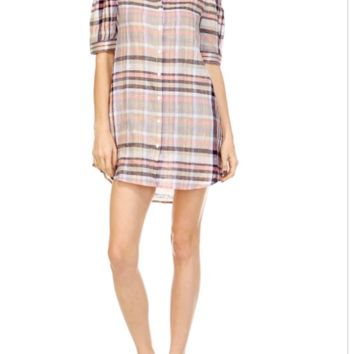 Don't Plaid With Me Dress