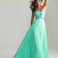 New Long Chiffon Sweetheart Strapless Prom Dress Ball Gown Party Evening Dresses