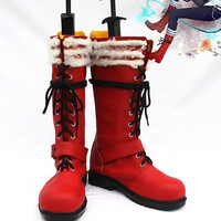 Ao no Exorcist Blue Exorcist Okumura Rin Cosplay Shoes Boots Custom Made