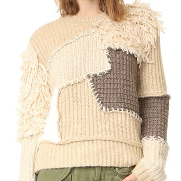 Cool Patchwork Sweater