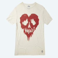 Skull Fucked T-shirt (Cream)
