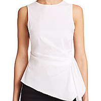 Bailey 44 - Trevi Ruched Sleeveless Top - Saks Fifth Avenue Mobile
