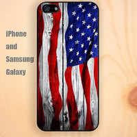 Wooden flag watercolor colorful iphone 6 6 plus iPhone 5 5S 5C case Samsung S3,S4,S5 case Ipod Silicone plastic Phone cover Waterproof
