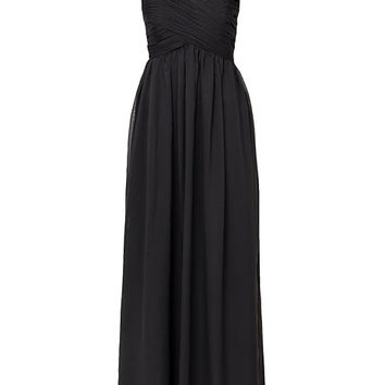 Wrap Bust Long Dress, NLY Eve
