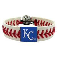 MLB Kansas City Royals Classic Baseball Bracelet