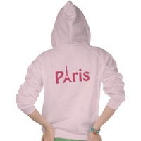 Pink Paris Tee Shirt from Zazzle.com