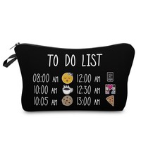 To Do List Makeup Bag