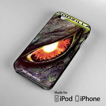 Godzilla Movie A1260 iPhone 4 4S 5 5S 5C 6, iPod Touch 4 5 Cases