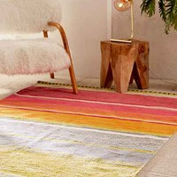 Logan Bold Stripe Woven Rug - Urban Outfitters