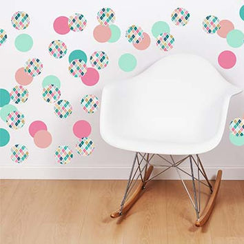 Polka Dot 1 Vinyl Wall Decal Sticker