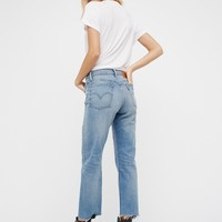 Free People Levi's Wedgie Straight Jean