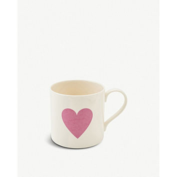 THE BIG TOMATO COMPANY Heart mug