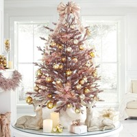 4' Rose Gold Christmas Tree
