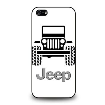 ABSTRACT JEEP iPhone 5 / 5S / SE Case