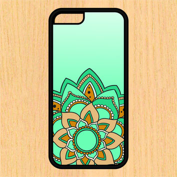 Aqua Mandala Sec1 Phone Case iPhone 4 / 4s / 5 / 5s / 5c /6 / 6s /6+ Apple Samsung Galaxy S3 / S4 / S5 / S6