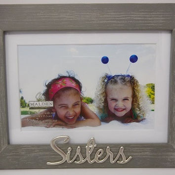 "Malden ""Sisters"" Photo Frame"