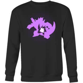POKEMON NIDOKING EVOLUTION Sweatshirt T Shirt - TL00470SW