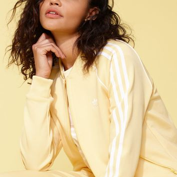adidas Adicolor Yellow SST Track Jacket at PacSun.com
