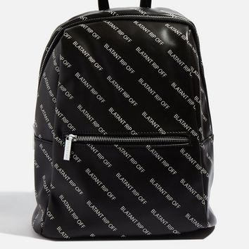 **Blatant Rip Off Backpack by Skinnydip | Topshop