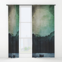 Great mystical wilderness Window Curtains by HappyMelvin