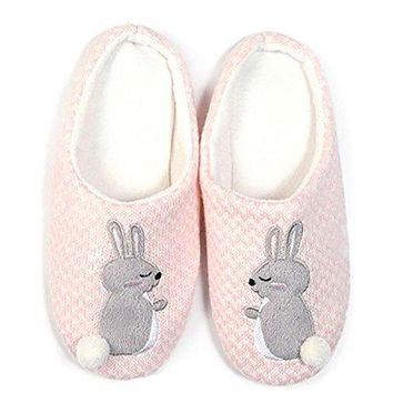 Blandice Womens Super Soft Cozy Animal Themed House Slippers Wide Assortment of Animals Available
