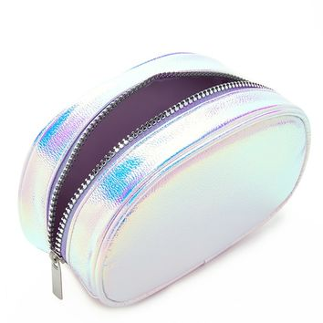 Iridescent Makeup Pouch - Accessories - 1000198270 - Forever 21 EU English