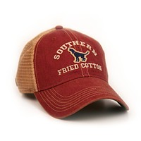 Howler Trucker Hat in Cardinal by Southern Fried Cotton
