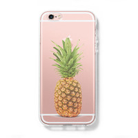 Pineapple Fruit iPhone 6 Case, iPhone 6s Plus Case, Galaxy S6 Edge Case C070