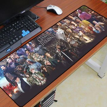 Game of Thrones mouse pad 900x300mm pad to mouse notbook computer best mousepad gaming padmouse gamer to keyboard mouse mat