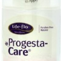 Life-Flo Progesta-Care with Natural Progesterone Body Cream, 4-Ounce Bottle (Pack of 3)