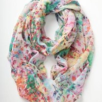 Blurred Watercolors Jersey Scarf - Anthropologie.com