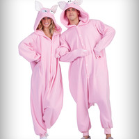 Anime Pink Pig Adult Costume