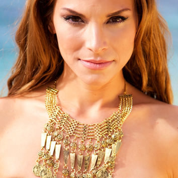 NOMAD HAWAII Cleo Necklace - Gold