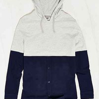 Charles & 1/2 Hooded Oxford Pullover Shirt - Urban Outfitters