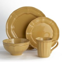 Noble Excellence Toscano Yellow Dinnerware