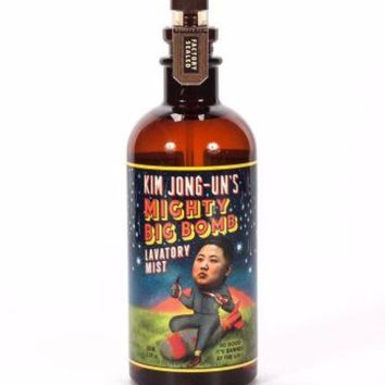 Kim Jong-Un's Mighty Big Bomb Lavatory Mist