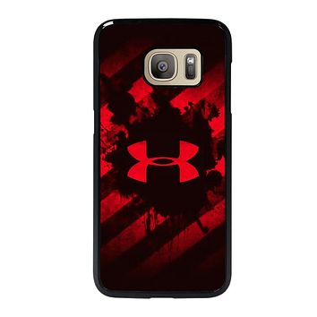UNDER ARMOUR RED STRIPE LOGO Samsung Galaxy S7 Case Cover