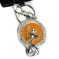 Pumpkin King Nightmare Before Christmas Keychain Jack