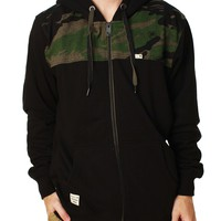 Metal Mulisha Men's Raghorn Nanotex Full Zip Hoodie