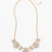 Dana Dusty Blue Statement Necklace