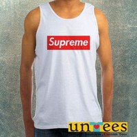 Supreme Clothing Tank Top For Mens